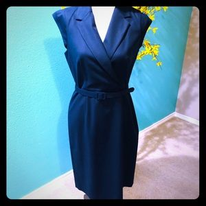 Banana Republic Suit dress Navy EUC